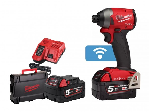 Milwaukee M18ONEID2-502X One Key Fuel Akku-Schlagschrauber