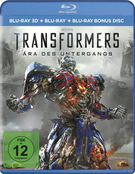 Transformers 4: Ära des Untergangs (Blu-ray 3D+2D)
