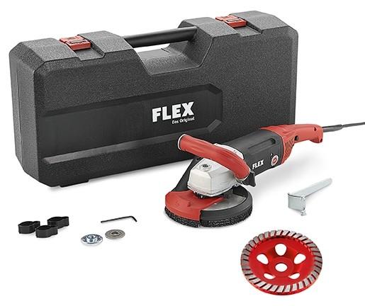 FLEX Kraftvoller 1800 Watt Sanierungsschleifer LD 18-7 150 R, Kit Turbo-Jet
