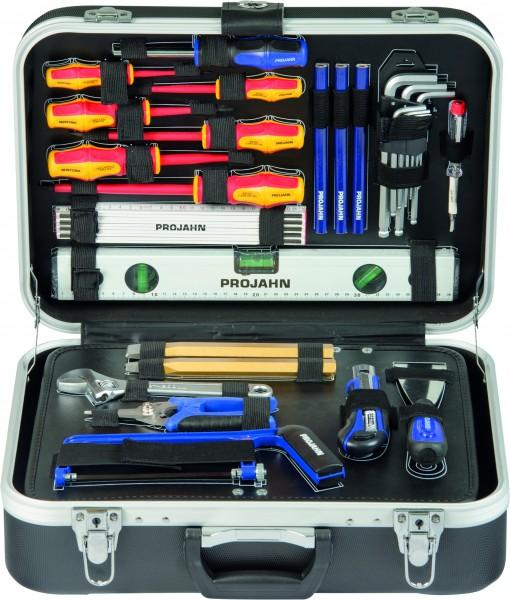 PROJAHN Elektro Werkzeugkoffer 128-tlg (für Elektriker & Handwerker)