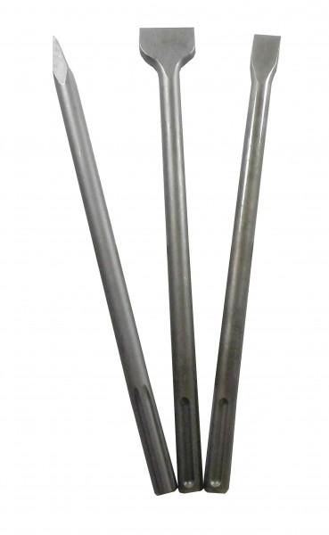 SDS-max Meißelsatz 3-teilig Länge 400mm