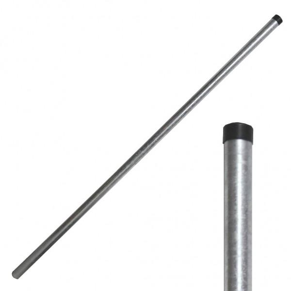 Antennenmast 2,00m D.48x2mm verz. mit Kappe