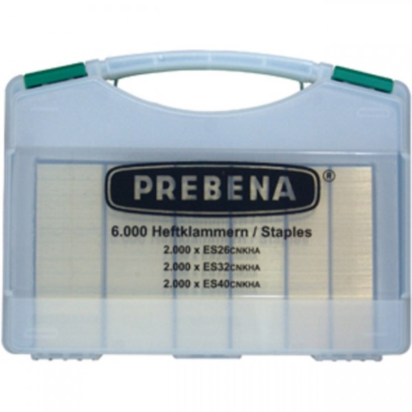 Prebena ES-BOX Klammernsortiment (6000 Stk ES)