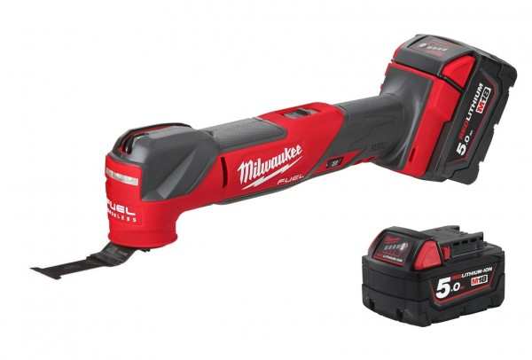 Milwaukee M18FMT-502X FUEL™ Akku-Multitool