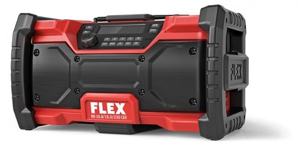 FLEX Akku-Baustellenradio RD10.8/18.0/230V DAB+Blutooth