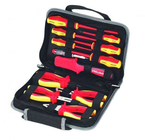 Projahn proficraft VDE Werkzeugmappe, 12tlg.