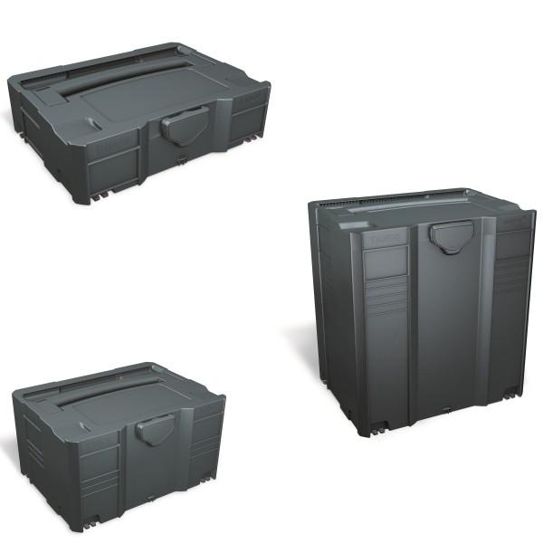 Tanos Systainer T-Lock Anthrazit in den Größen 1-5 (I/II/III/IV/V) TL Koffer