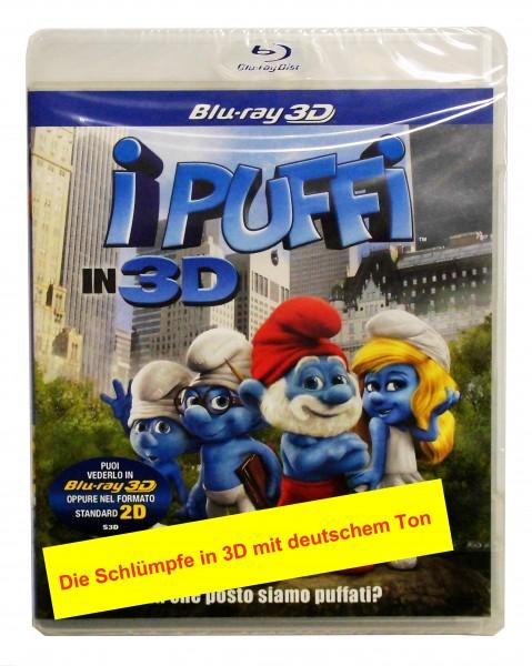 Schlümpfe ,Die (3D-Blu) Ital.(deutscher Ton)