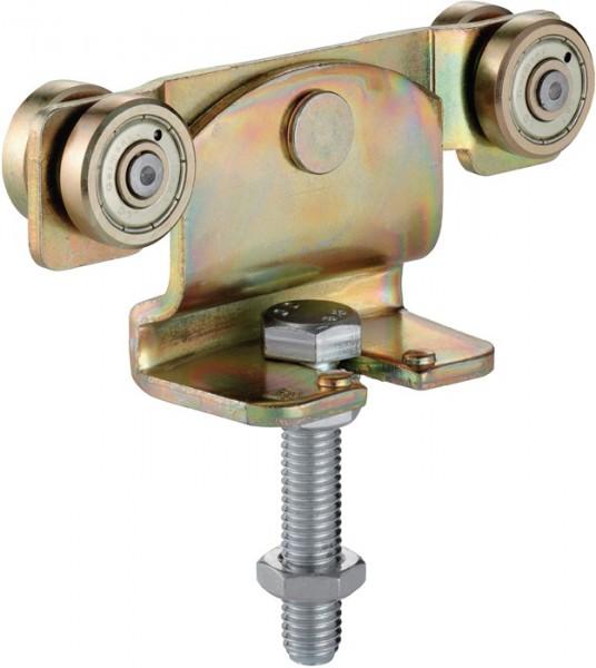 Rollapparat -91 491 passend für Profil 400 Stahl galvanisch gelb verzinkt 200 kg