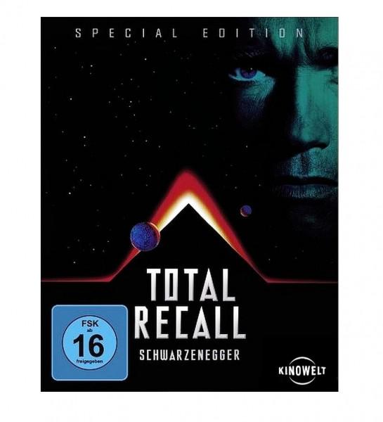 "TOTAL RECALL ""Special Edition Blu-ray"" (Arnold Schwarzenegger)"