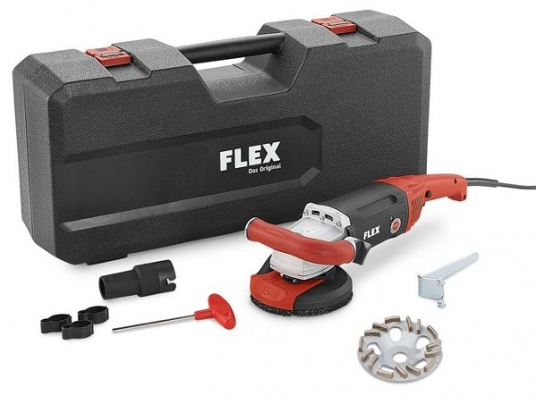 FLEX Kraftvoller 1800 Watt Sanierungsschleifer LD 18-7 125 R Kit TH-Jet
