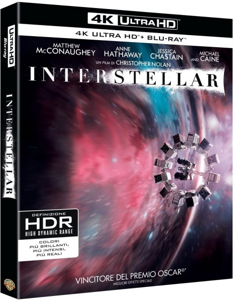 Interstellar (4K Ultra HD+Blu-ray) Deutscher Ton (Matthew McConaughey)