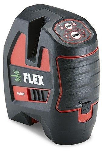 FLEX ALC 3/1-G Selbstnivellierender Kreuzlinien-Laser