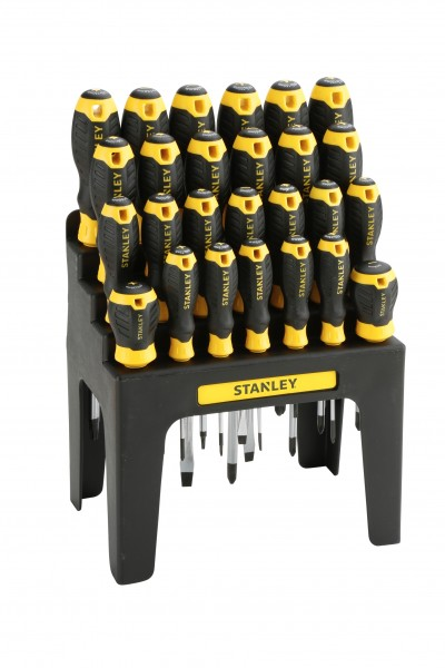 Stanley Schraubendreher-Set Stanley 26-tlg. mit Wandhalter