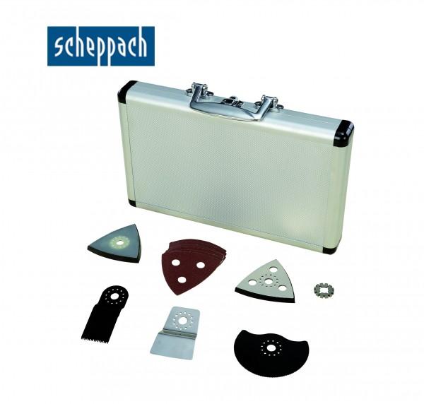 Scheppach Netz-/Akku-Multitool Zubehörset - 17-teilig