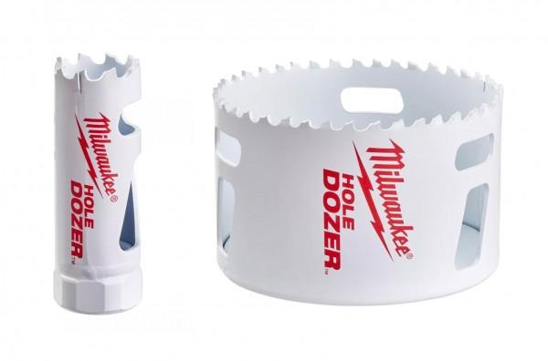 Milwaukee Lochsägen HSS-Co Bi-Metall *HOLE Dozer* Durchmesser: 14-210mm
