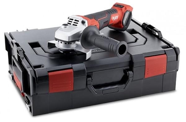 FLEX Akku-Winkelschleifer regelbar LBE 125 18.0-EC in L-Boxx 18V