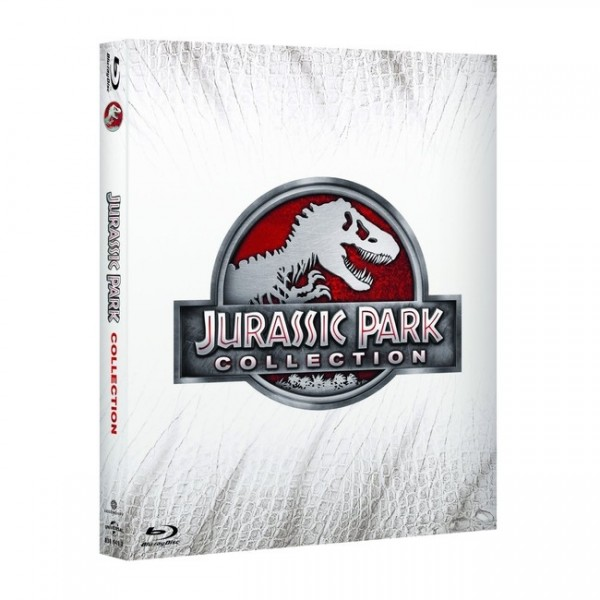 Jurassic Park Collection Teil 1-4 (4 Blu-ray)