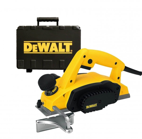 DeWalt DW680K-QS Hobel 2,5 mm 600 Watt im Koffer