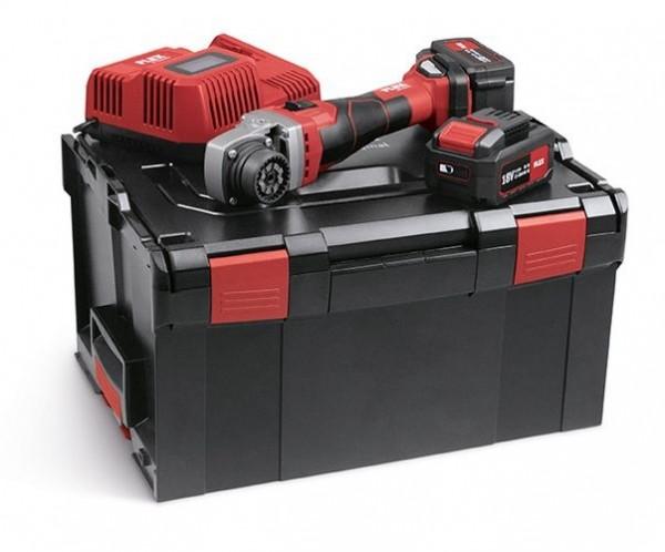 FLEX Akku-Basismotor BME 18.0-EC/5.0 Set in L-Boxx 2xAkku 18V 5Ah TRINOXFLEX