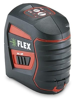 FLEX ALC 2/1-G Selbstnivellierender Kreuzlinien-Laser