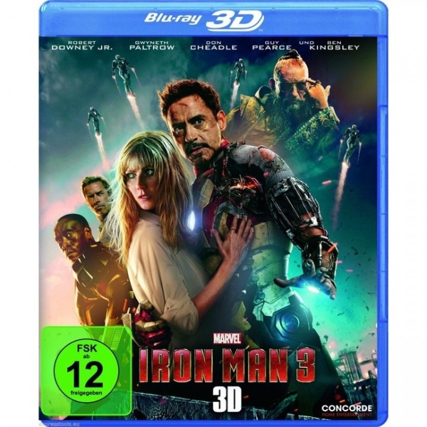 Iron Man 3 (Blu-ray 3D+2D)