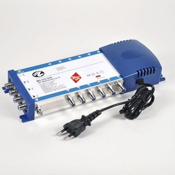 Multischalter 5x12NT (12 Teilnehmer) mit Netzteil