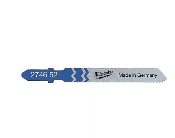 Milwaukee Stichsägeblätter Metall 55 x 0,7 mm T118G (5er Pack)