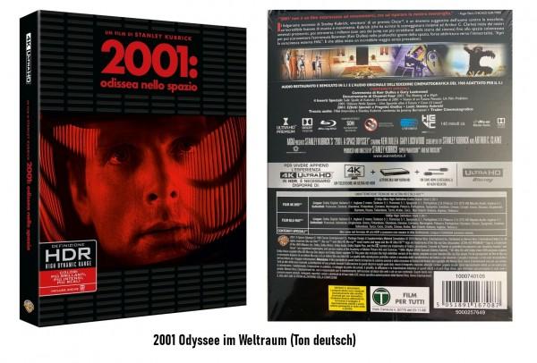 2001: Odyssee im Weltraum (4K ULTRA HD+Blu-ray) Ton Deutsch