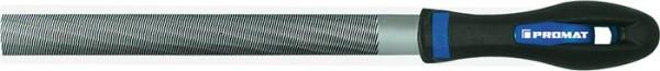 Werkstattfeile DIN 7261 Länge 150 mm Querschnitt 16 x 5 mm Hieb 2 Halbrund 2K-Ergo PROMAT