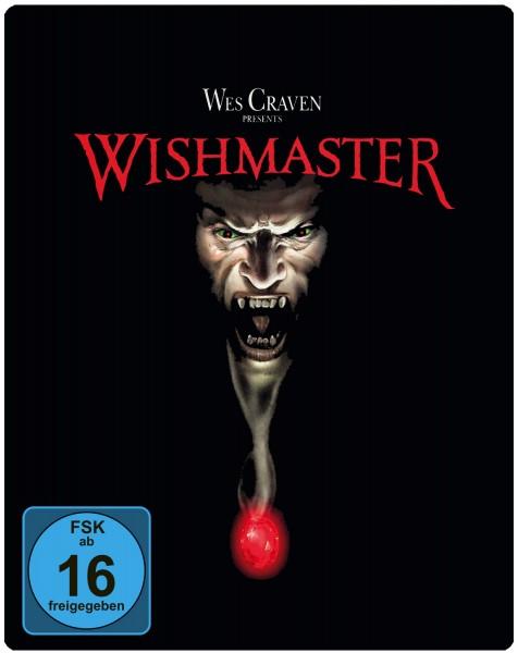 WISHMASTER (Blu-Ray) Steelbook Limtierte Edition (ungeschnitten) NSM