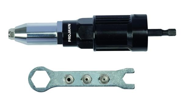 Profi Blindnietvorsatz-Adapter für Akkuschrauber