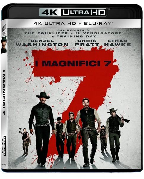 Die glorreichen Sieben (4K Ultra HD+ Blu-ray) deutscher Ton 4K (2 Disc`s)