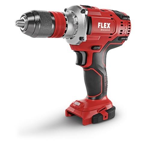 FLEX DD4G 18.0-ECC Akku-Bohrschrauber 135Nm 4-Gang Sologerät 18V, 491292