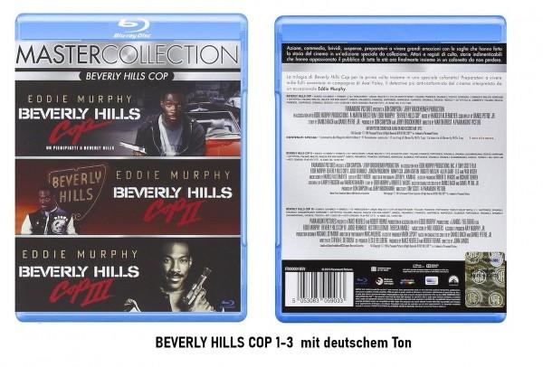 Beverly Hills Cop Teil 1-3 (Blu-ray Collection) Ital. deutscher Ton