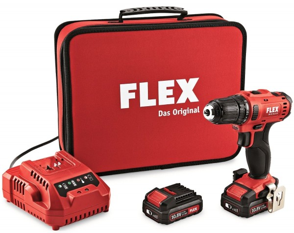 FLEX Akkuschrauber DD2G 10.8-LD 10,8V (2x 2,5Ah)