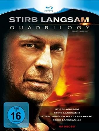 Stirb Langsam-Quadrilogy 1-4 (Blu-ray)