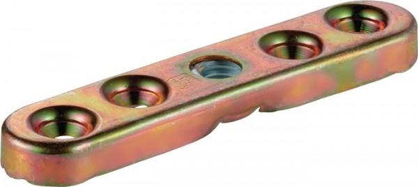 Flansch -93 193 Profil 100 Stahl galvanisch verzinkt für Holzflügel HELM