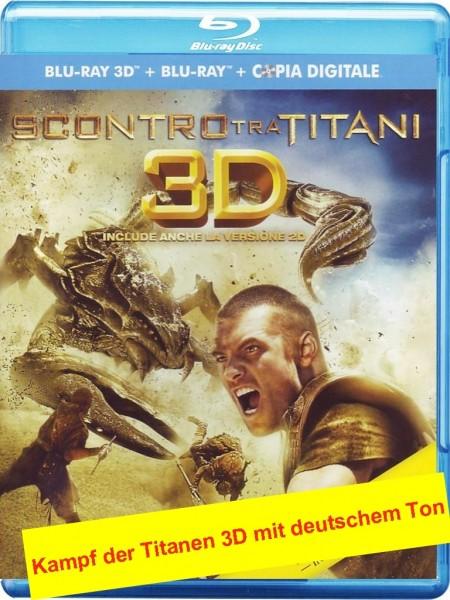 Kampf der Titanen (Blu-ray 3D +2D) Ital. (deutscher Ton)