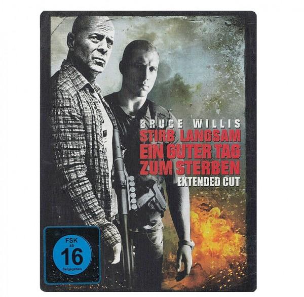 Stirb langsam - Ein guter Tag zum Sterben (Blu-ray-Steelbook) Extended Cut