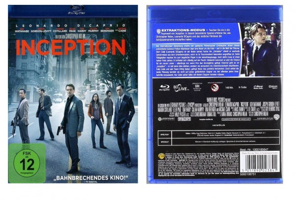 Inception (Blu-ray) mit Leonardo DiCaprio