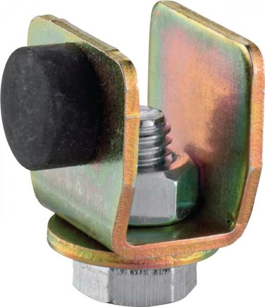Schienenstopper 100 P Profil 100 Stahl Oberfläche galvanisch verzinkt HELM