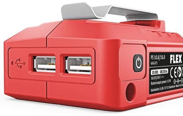 FLEX Akku Adapter PS 10.8/18.0 Volt mit USB
