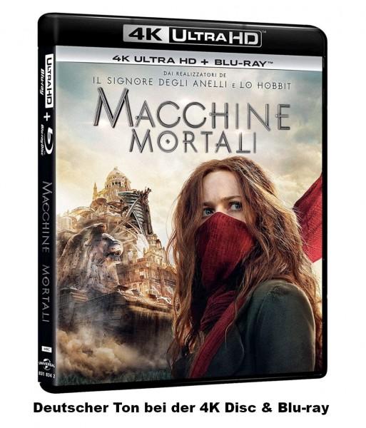 Mortal Engines: Krieg der Städte (4K Ultra HD+Blu-ray) Deutscher Ton 2-Disc`s