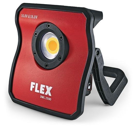 FLEX LED Akku-Vollspektrumleuchte DWL2500 10.8/18.0 V ohne Akku