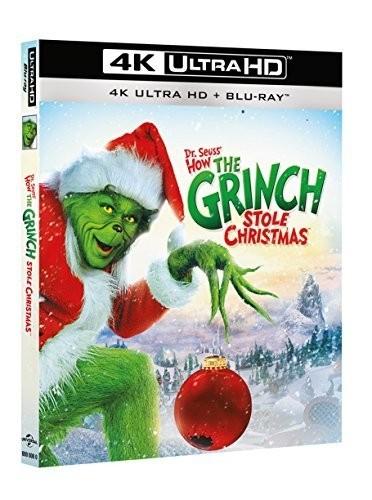 Der Grinch (4K Ultra HD+Blu Ray) Ton Deutsch (mit Jim Carrey)