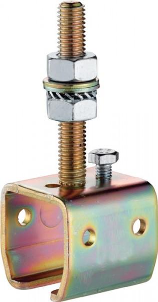 Muffe -04 304 Profil 300 Stahl galvanisch verzinkt Ausführung höhenverstellbar H