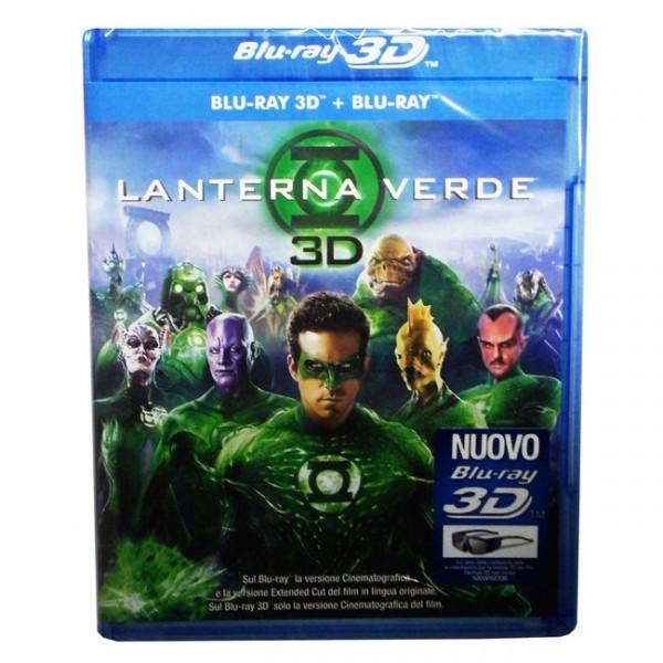 Green Lantern (Blu-ray 3D+2D) Deutscher Ton