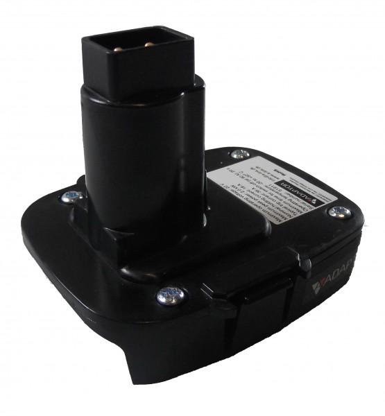 Adapter/Adaptor für DeWalt Schiebe- auf Steckakku 18V XRP *mit CE-Zeichen*