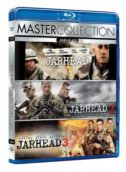 Blu-ray Jarhead Collection Teil 1-3 ital. (Ton Deutsch)